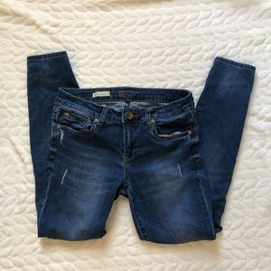 Kut from the Kloth Slightly Distressed Jeans